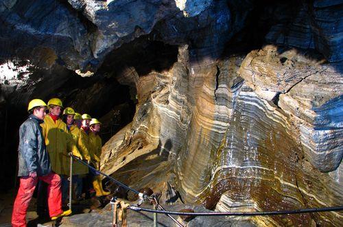 Spannagelhöhle - Halle der Vereinigung (Hall of Union) ©Hintertuxer Gletscher