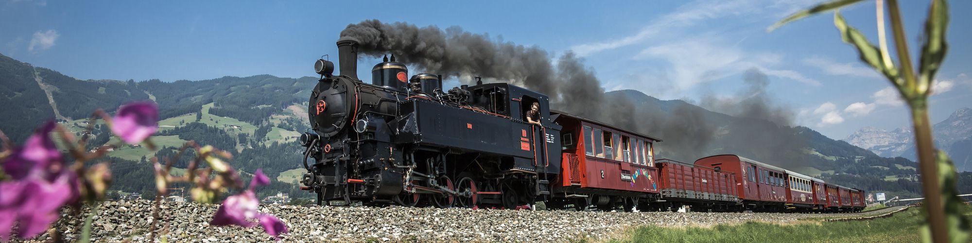 Historische Dampfeisenbahn (Zillertalbahn) ©Zillertaltourismus, Bernhard Huber